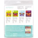 Sue Spargo Butterfly Colourway 1 Precut Wool Kit by Wonderfil  Sue Spargo Wool Felt PreCut Kits - OzQuilts