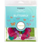 Sue Spargo Butterfly Colourway 2 Precut Wool Kit by Wonderfil  Sue Spargo Wool Felt PreCut Kits - OzQuilts
