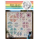 Divided Blooms Quilt Pattern by Carolyn Murfitt of Free Bird Designs by Free Bird Quilting Designs Applique - OzQuilts