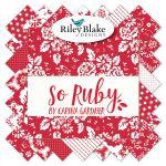 So Ruby Fat Quarter Bundle Carina Gardner for Riley Blake Designs by Riley Blake Designs Fat Quarter Packs - OzQuilts