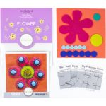 Sue Spargo Flower Colourway 1 Precut Wool Kit by Wonderfil  Sue Spargo Wool Felt PreCut Kits - OzQuilts