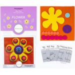 Sue Spargo Flower Colourway 4 Precut Wool Kit by Wonderfil  Sue Spargo Wool Felt PreCut Kits - OzQuilts