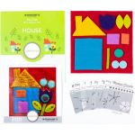 Sue Spargo House Colourway 2 Precut Wool Kit by Wonderfil  Sue Spargo Wool Felt PreCut Kits - OzQuilts