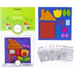 Sue Spargo House Colourway 3 Precut Wool Kit by Wonderfil  Sue Spargo Wool Felt PreCut Kits - OzQuilts