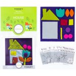 Sue Spargo House Colourway 4 Precut Wool Kit by Wonderfil  Sue Spargo Wool Felt PreCut Kits - OzQuilts