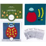 Sue Spargo Ladybug Colourway 2 Precut Wool Kit by Wonderfil  Sue Spargo Wool Felt PreCut Kits - OzQuilts