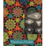 "Perprtuum Mobile Traditional Template Set from Millefiori Quilts 3 - Original Size 1"" by OzQuilts Millefiori Book 3  - OzQuilts"
