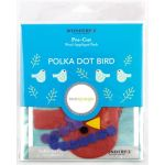 Sue Spargo Polka Dot Bird Colourway 2 Precut Wool Kit by Wonderfil  Sue Spargo Wool Felt PreCut Kits - OzQuilts