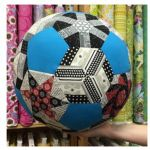Fractured Soccer Ball Paper Piecing Pack by Katja Marek by Paper Pieces Paper Pieces Kits & Templates - OzQuilts