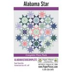 Alabama Star Complete Paper Piecing Pack by Paper Pieces Paper Pieces Kits & Templates - OzQuilts