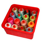 Sew Stack Thread Storage Box with lid by Noble Notions Organisers - OzQuilts