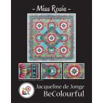 Miss Rosie Quilt Pattern & Foundation Papers by Jacqueline de Jonge by BeColourful Quilts by Jacqueline de Jongue Patterns & Foundation Papers - OzQuilts