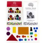 Wendy Williams Pre-Cut Wool Applique Pack - Little House Mustard by Wendy Williams of Flying FIsh Kits Wendy Williams Wool Felt Precut Kits - OzQuilts