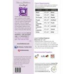 February Birthstone Amethyst - Birthstone Series by  Quilt Patterns - OzQuilts