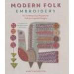 Modern Folk Embroidery - Softcover by, Nancy Nicholson by  Embroidery - OzQuilts