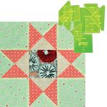"""Matilda's Own Hoshi (Stars) 12"""" Patchwork Template Set by Matilda's Own Quilt Blocks - OzQuilts"""