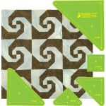 Matilda's Own Indiana Puzzle (Snails Trail) Patchwork Template Set by Matilda's Own Quilt Blocks - OzQuilts