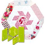 Matilda's Own English Whirl Patchwork Template Set by  Quilt Blocks - OzQuilts