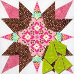 Matilda's Own Prairie Star Patchwork Template Set by Meredithe Clark Quilt Blocks - OzQuilts
