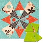 Matilda's Own Swirl Patchwork Template Set by  Quilt Blocks - OzQuilts