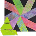 Matilda's Own Vortex Patchwork Template Set by  Quilt Blocks - OzQuilts