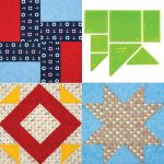 Matilda's Own Back to Basics-4G Patchwork Template Set by Meredithe Clark Quilt Blocks - OzQuilts