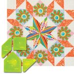 "Matilda's Own 12"" Carpenter's Wheel Patchwork Template Set by  Quilt Blocks - OzQuilts"