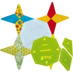 Matilda's Own Periwinkle Star Patchwork Template Set by Matilda's Own Quilt Blocks - OzQuilts
