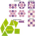 Matilda's Own One Inch Patchwork Template Set by Matilda's Own Quilt Blocks - OzQuilts