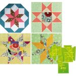 """Matilda's Own Hoshi (Stars) 8"""" Patchwork Template Set by Matilda's Own Quilt Blocks - OzQuilts"""