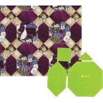 Matilda's Own Kumo (Cloud or Spider) Patchwork Template Set by Matilda's Own Quilt Blocks - OzQuilts