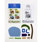 Wendy Williams Pre-Cut Wool Applique Pack - Caravan Blue by Wendy Williams of Flying FIsh Kits Wendy Williams Wool Felt Precut Kits - OzQuilts