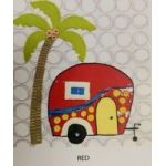 Wendy Williams Pre-Cut Wool Applique Pack - Caravan Red by Wendy Williams of Flying FIsh Kits Wendy Williams Wool Felt Precut Kits - OzQuilts