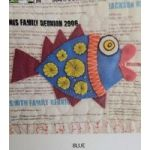 Wendy Williams Pre-Cut Wool Applique Pack - Little Fish Blue by Wendy Williams of Flying FIsh Kits Wendy Williams Wool Felt Precut Kits - OzQuilts