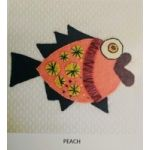 Wendy Williams Pre-Cut Wool Applique Pack - Little Fish Peach by Wendy Williams of Flying FIsh Kits Wendy Williams Wool Felt Precut Kits - OzQuilts