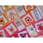 Dogface Quilt Pattern by Claire Turpin by Claire Turpin Designs Quilt Patterns - OzQuilts