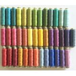 Sue Spargo Ellana Wool Thread for the Fresh Cut Quilt - 40 Spools by Sue Spargo Sue Spargo Ellana 12wt Wool  - OzQuilts