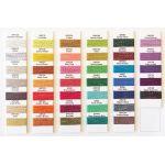 Wonderfil GlaMoreThread Colour Chart by Wonderfil Colour Card Booklets Thread Colour Charts - OzQuilts