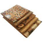 Aboriginal Art Fabric 5 Fat Quarter Bundle - Gold Colourway by M & S Textiles Fat Quarter Packs - OzQuilts