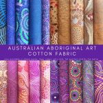 Aboriginal Art Fabric 20 Fat Quarter Bundle F by M & S Textiles Fat Quarter Packs - OzQuilts