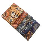 Aboriginal Art Fabric 5 Fat Quarter Bundle - Purple Yellow Colourway by M & S Textiles Fat Quarter Packs - OzQuilts