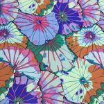 Lotus Leaf - Blue by The Kaffe Fassett Collective Lotus Leaf - OzQuilts