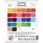 Dazzling Diamonds Pattern & Foundation Papers by Jacqueline de Jongue by BeColourful Quilts by Jacqueline de Jongue BeColourful Quilts by Jacqueline de Jongue - OzQuilts