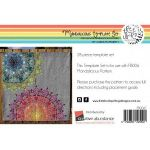 Mandalicious and Mandalightful Acrylic Template Set by Freebird Quilting Designs by Free Bird Quilting Designs Creative Abundance Templates - OzQuilts