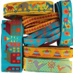 Sue Spargo Woven Ribbon Designer Assortment - 7 Yards by Renaissance Ribbons Bag Making Accessories - OzQuilts