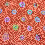 Guinea Flower - Apricot by The Kaffe Fassett Collective Guinea Flower - OzQuilts