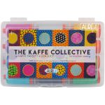 The Kaffe Collective Thread by Kaffe Fassett & Liza Lucy -12 Large Spools 50wt Aurifil Cotton by Aurifil Thread Sets - OzQuilts
