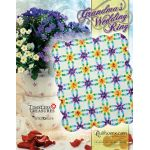 Grandma's Wedding Ring Quilt Pattern and Foundation Papers by Judy Niemeyer by Quiltworx Judy Niemeyer Quiltworx - OzQuilts