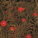 Ferns - Black by The Kaffe Fassett Collective Ferns - OzQuilts