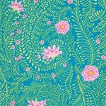Ferns - Turquoise by The Kaffe Fassett Collective Ferns - OzQuilts